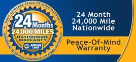 NAPA Auto Care Center Warranty